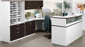 Custom Reception Desk Impressions Custom Reception Desk Workstation