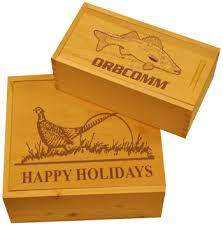 personalized wooden gifts custom engraved wooden gift boxes steve carney outdoors