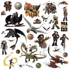 how to train your dragon u201d peel and stick wall decals