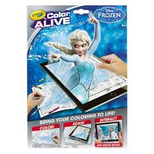 crayola 95 1064 frozen color alive action coloring pages