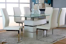 white dining room set formal
