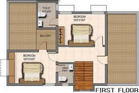 1800 sq ft 3 bhk 3t villa for sale in esr engineers and builders