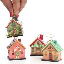 miniature house ornaments miniatures