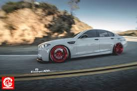 bmw m5 modified bmw f10 m5 gloss red adv10 track spec sl wheels bmw