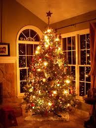 brown christmas tree large christmas tree with large bulbs chritsmas decor