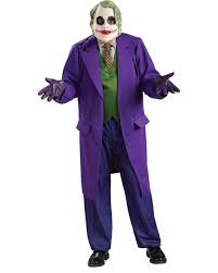 batman dark knight the joker deluxe halloween costume