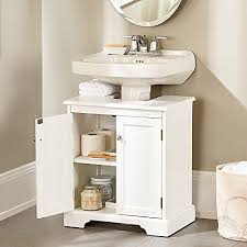 Bathroom Vanity Units Without Sink Pedestal Sink Cabinet Instantly Create A Portable Under Sink