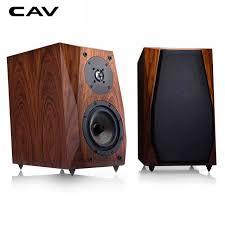 cav fl 35 hi fi speaker wired bookshelf speakers wood hifi boxes