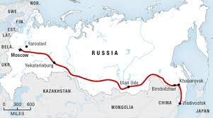 Ural Mountains World Map by Russia By Rail Setting Off From Moscow Wwno