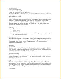 Job Resume Sample 100 Resume Sample Summer Job Resume Template Examples