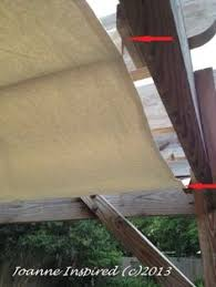 Pergola Canopy Ideas by Outdoor Space Makeover Painted Floors U0026 Diy Drop Cloth Shade