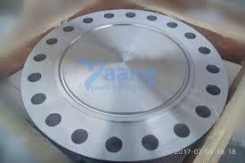 Threaded Blind Flange Ansi B16 5 Astm A182 F51 Blind Flange Rtj Dn200 Sch80 Cl900 Yaang