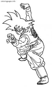goku coloring pages pdf free coloring pages