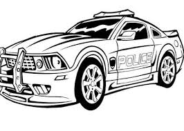 emejing police car coloring images printable coloring