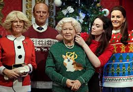 the royal family waxworks got themselves jumpers