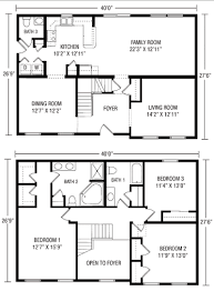 2 story house plan 40 x 2 story house plans home deco plans