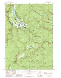 Arizona Spring Training Map by Old Faithful Topographic Map Wy Usgs Topo Quad 44110d7