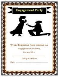 engagement ceremony invitation engagement ceremony invitation format free word templates
