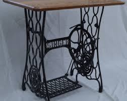Antique Singer Sewing Machine Table Singer Sewing Table Etsy