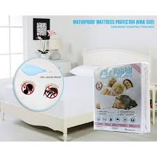 blue rabbit waterproof mattress protector king size