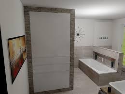 Putz Im Badezimmer Faszinierendes Bad Mit Flächenbündigen Wänden Kreativfliesen