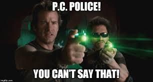 Politically Correct Meme - p c police imgflip