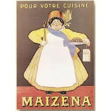 affiche cuisine vintage affiche 50x70cm pub pub maizena pour votre cuisine achat vente