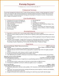 procurement resume 8 procurement manager resume precis format