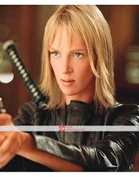 uma thurmans hair in kill bill kill bill black