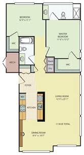 Chicago Apartment Floor Plans 1 2 And 3 Bedroom Apartments In Canton Uptown In Canton