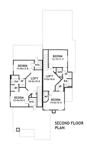 southwest floor plans due volte casa 1902 3 bedrooms and 2 baths the house designers