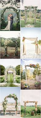 wedding arches on a budget 48 outdoor wedding decor ideas on a budget budgeting