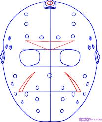 hockey mask halloween walmart jason hockey mask coloring pages hockey printable coloring pages