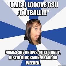 Brandon Weeden Memes - omg i looove osu football names she knows mike gundy justin