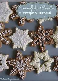 snowflake cookies snowflake cookies recipe whats cooking america