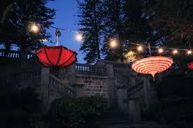 outdoor party lighting umbrella outdoor lights budget marquee hire