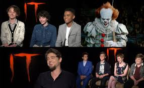 stephen king s it 2017 interviews with cast and director