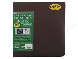 pioneer photo album pioneer scrapbook album 8 1 2 x 11 in leather burgundy