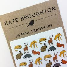 nail transfers illustrated animal nail art decals
