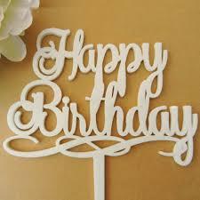 happy birthday cake topper happy birthday cake topper acrylic cake topper party cake topper