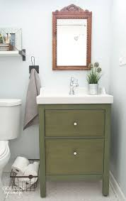 Guest Bathroom Vanity by Guest Bathroom Reveal The Golden Sycamore