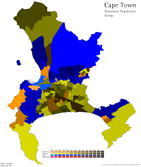 Map Of Cape Town South Africa by Race Ethnicity And Language In South Africa World Elections