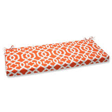 Orange Patio Cushions by Outdoor Cushions Pillow Perfect Outdoor New Geo Bench Cushion