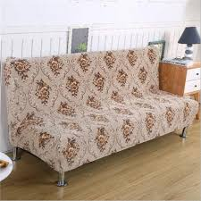 sofa hussen stretch popular folding sofa bed with armrest buy cheap folding sofa bed