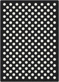 Black Polka Dot Rug Milliken Eclipse Nightfall Black White Area Rug U0026 Reviews Wayfair