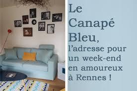 le canapé bleu rennes où dormir à rennes pour un week end en amoureux au canapé bleu