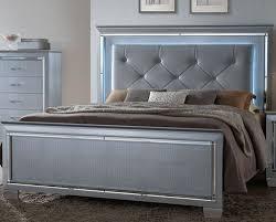 Led Bed Frame Lillian Led Lighted Bed