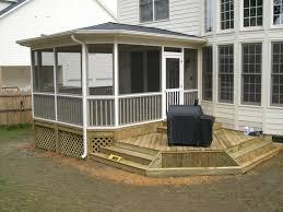 Shed Roof Over Patio by Charlotte Huntersville Screen Porch Sunroom Room Addition Artisans
