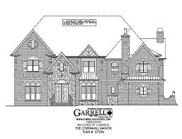 cornwall manor house plan covered porch plans