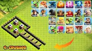 clash of clans all troops max x bow vs all troops clash of clans clipzui com